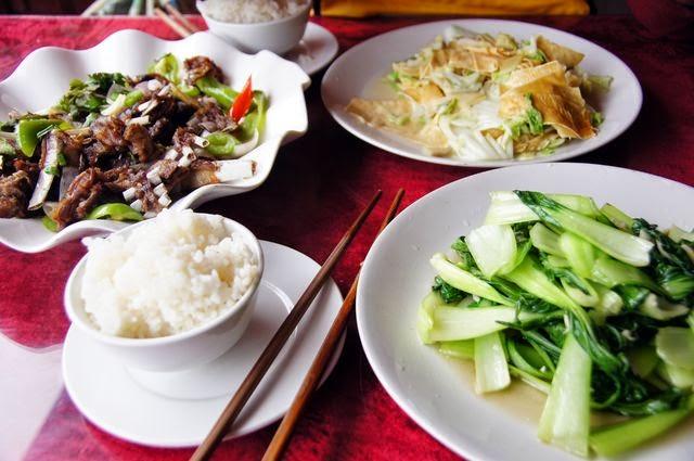 達人帶路-環遊世界-尼泊爾-長江餐廳菜色