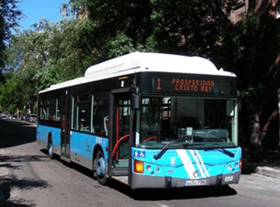 La línea 1 de la EMT cambia la cabecera a la calle López de Hoyos 73