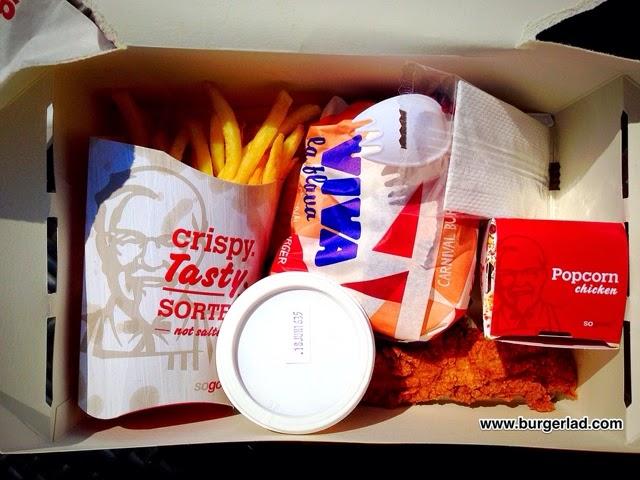 KFC Carnival Box Meal