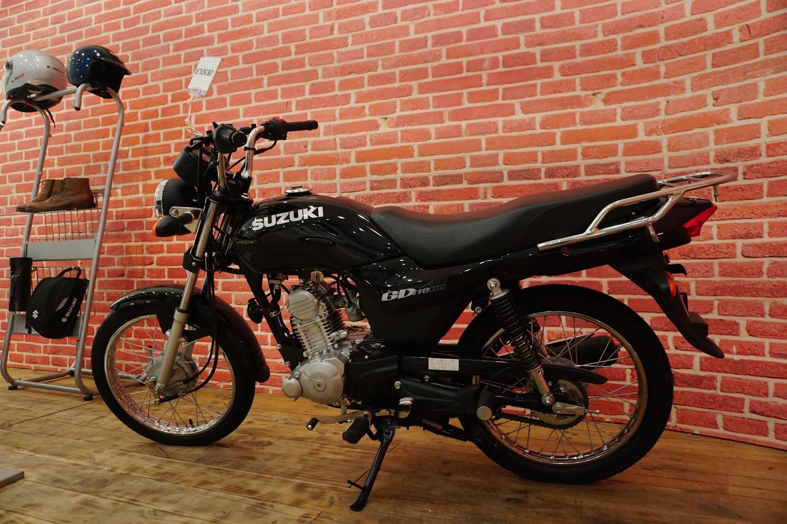 Đánh giá xe Suzuki GD110 - Chất, giá rẻ, phong cách núi rừng - landgonow