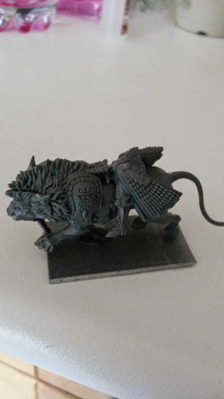 Recherche service sculpture : Projet Princes Lions Blancs 20150124_155615