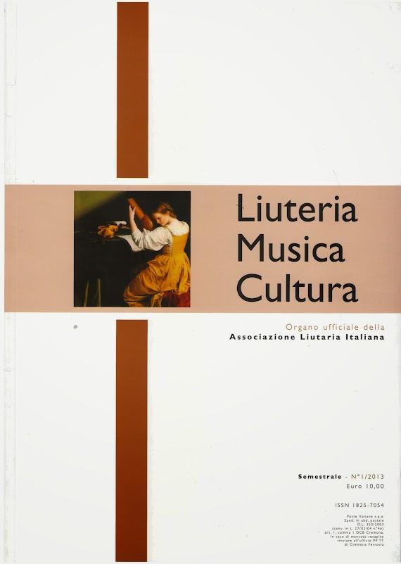 Numeri di codici del violino / Orest Putsentela. - In Liuteria, musica e cultura : organo ufficiale dell'Associazione Liutaria Italiana. - Vol. 1 (2013), p. 32-39