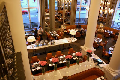 The Northall Restaurant at the Corinthia Hotel in London