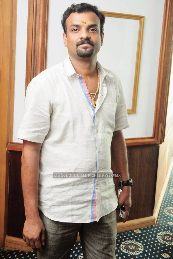 RS Vimal during the premiere of Ennu Ninte Moideen, in Trivandrum.
