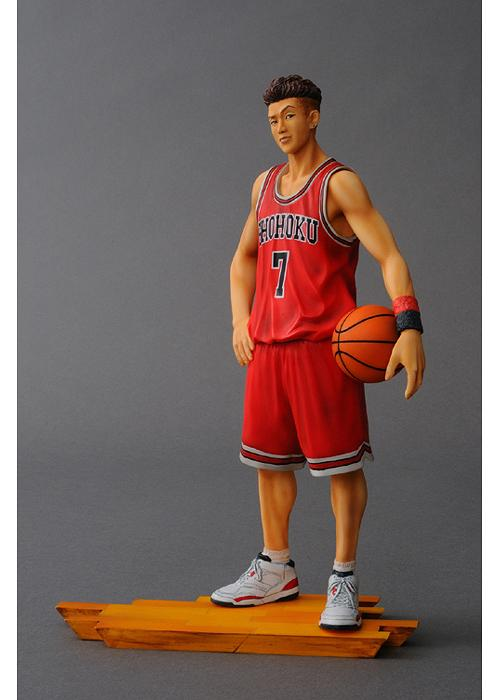 The spirit collection of Inoue Takehiko: SLAM DUNK figures