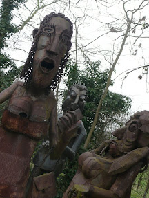 Examples of Paul Richardsons sculptures