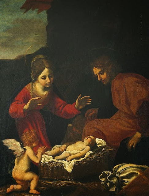 Jacopo Vignali - The Holy Family