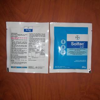 Insektisida Solfac 10WP