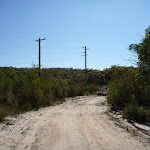 Powerlines beside trail west of Mt Wondabyne (380861)