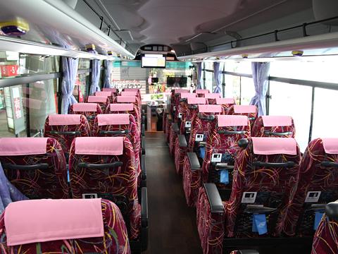産交バス「B&Sみやざき」 ・990 車内