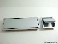 裝潢五金 品名:Z410-長型暗把手 規格:46*45MM/45*127MM 顏色:SC 玖品五金