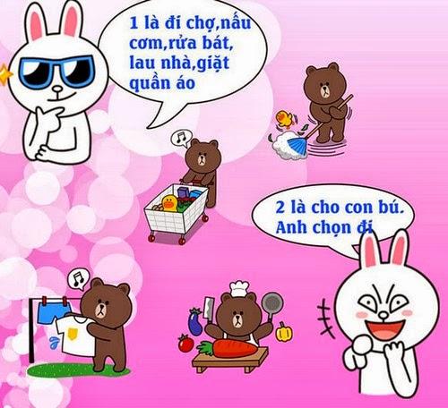 Khó đỡ với những câu nói hài hước của Brown và Cony