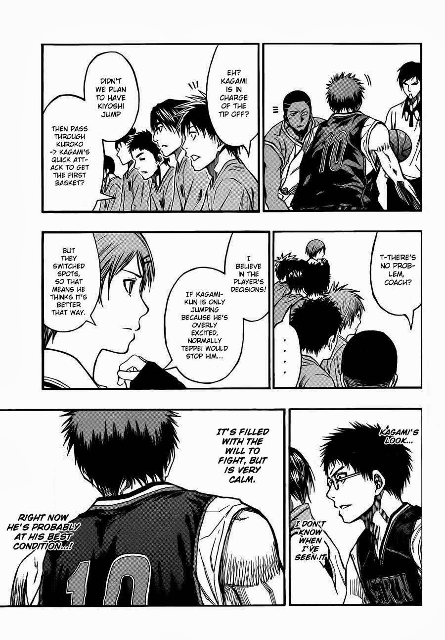 Kuroko no Basket Manga Chapter 232 - Image 03