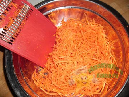 Приготовление корейской морковки в домашних условиях
