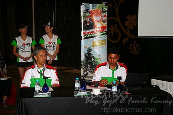 Barisan pengurusan Kawasaki Malaysia