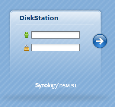 Synology DSM console