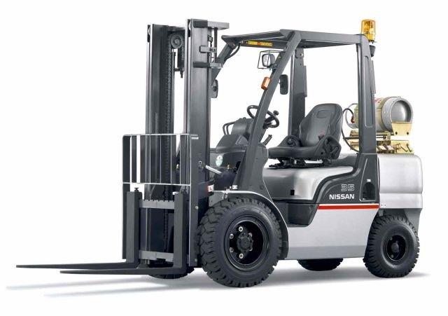 Xe nâng động cơ xăng gas Nissan