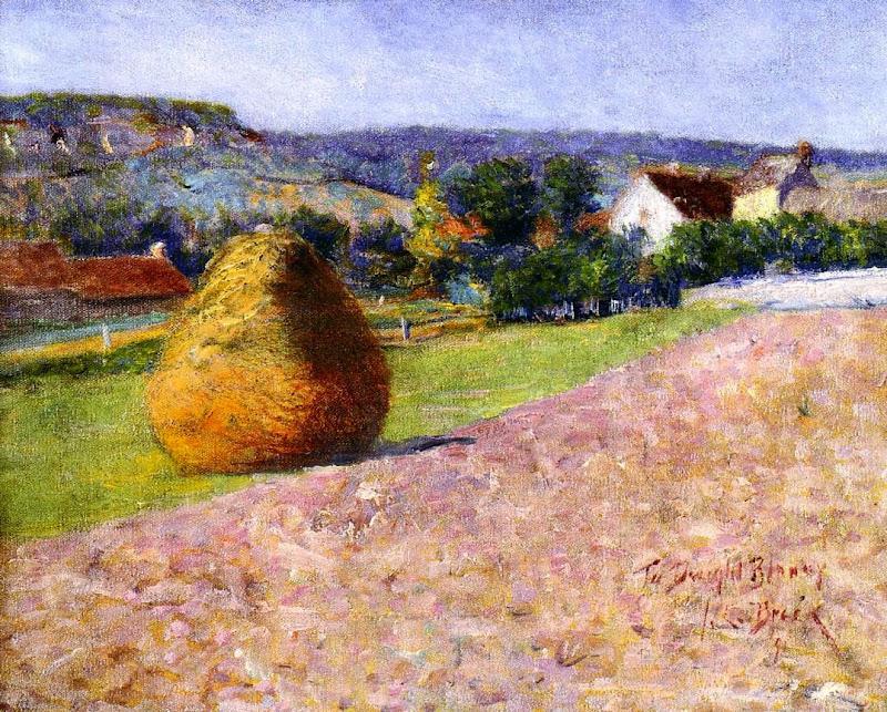 John Breck - Grainstack, Giverny