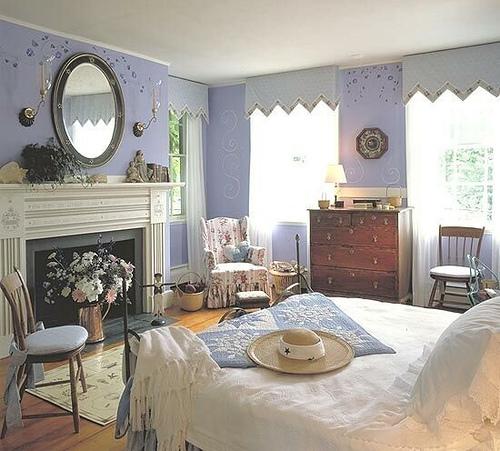 Moda ve hobi perisi country tarz ile d enmi evler for English style bedroom decorating ideas