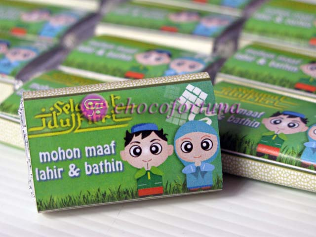 Mini Chocobar Lebaran