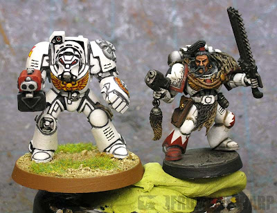 White Scar terminator and Veteran sergeant