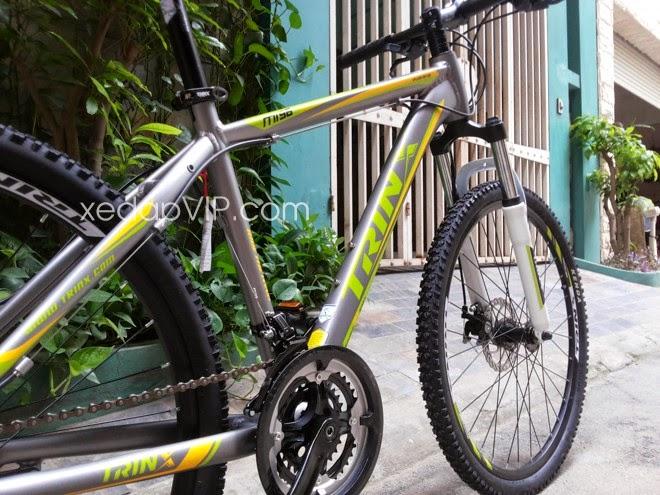 xe dap the thao TrinX m066 2014 xe đạp thể thao chính hãng mới nguyên chiếc xe dap dia hinh xe đạp địa hình