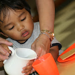LePort Montessori Preschool Toddler Program Irvine San Marino - life skills, pouring water