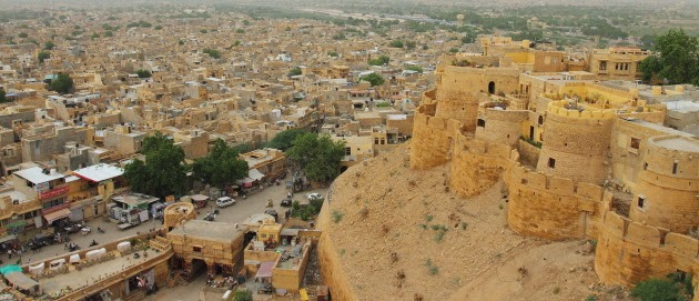 Sonal Qila and Jaisalmer city