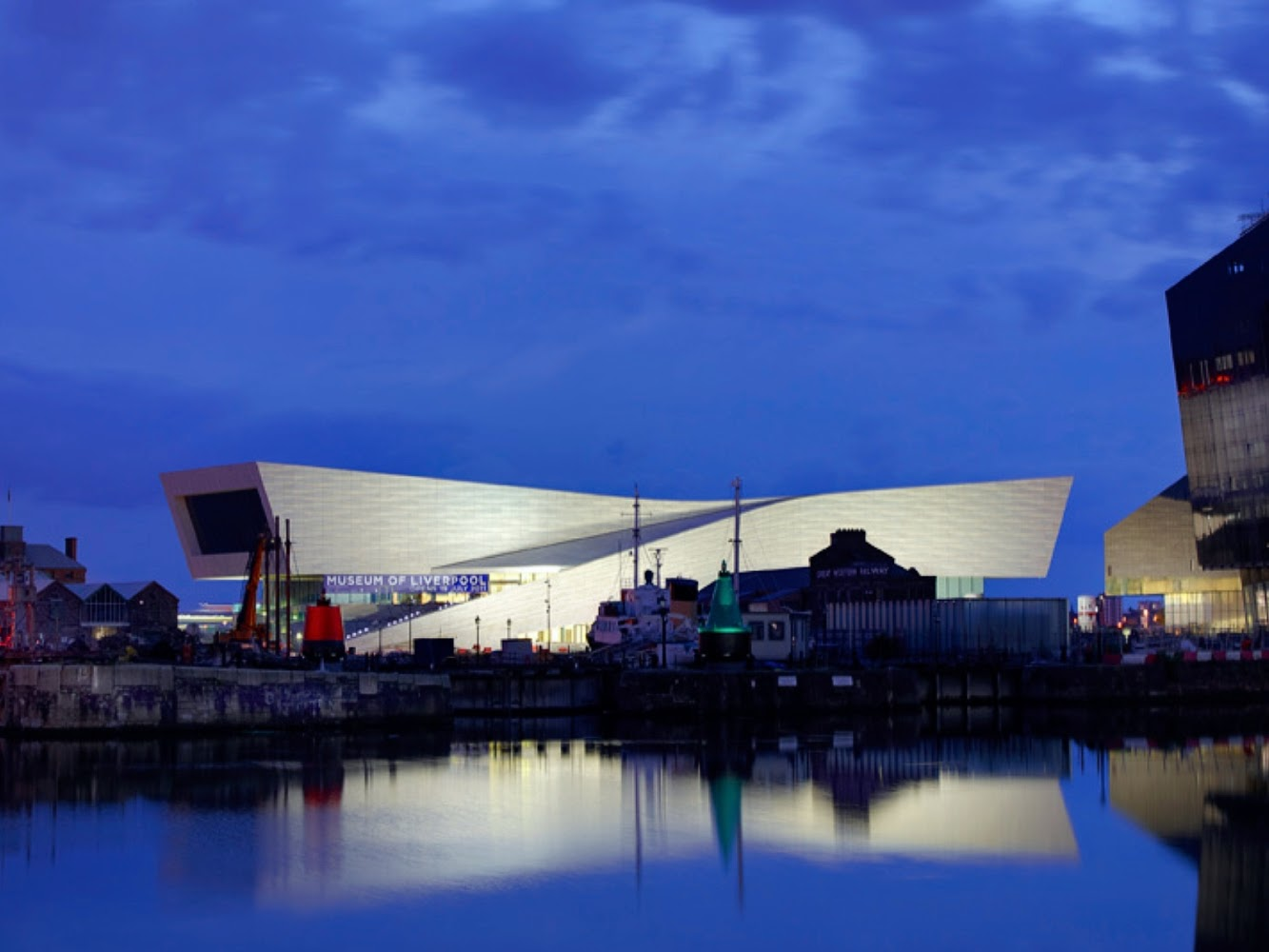 England: MUSEUM of LIVERPOOL by 3XN