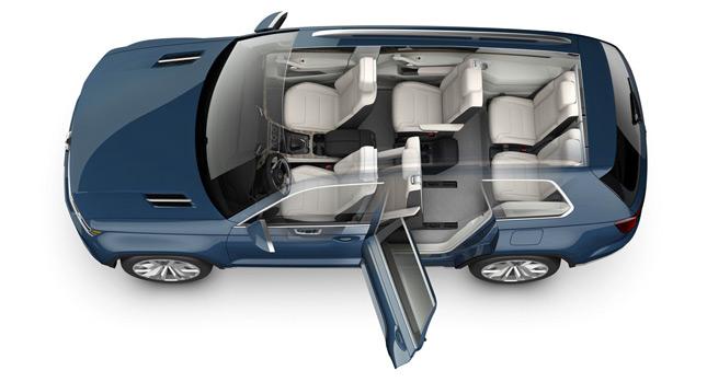 سيارة VW CrossBlue 2014