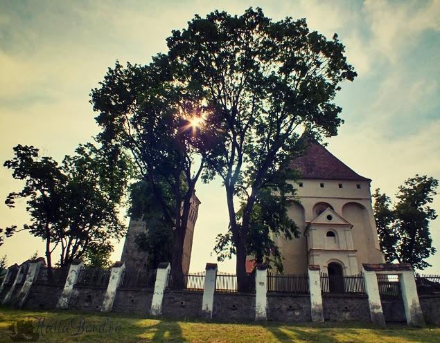 detaliu biserica evanghelica saschiz