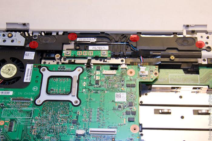 Как разобрать ноутбук Dell Inspiron 1525 34e