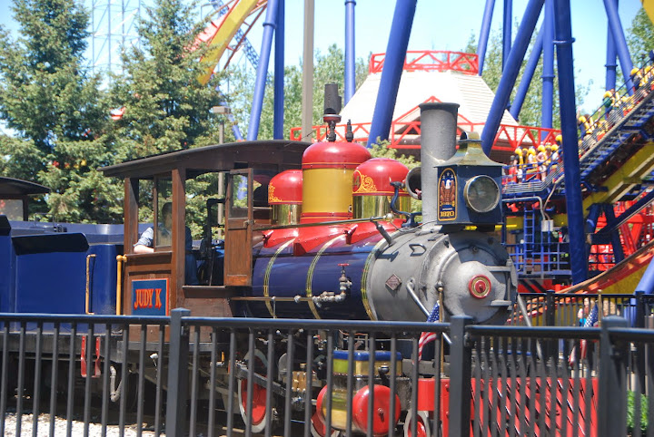 Cedar Point and Lake Erie Railroad. From The Complete Guide to Visiting Cedar Point