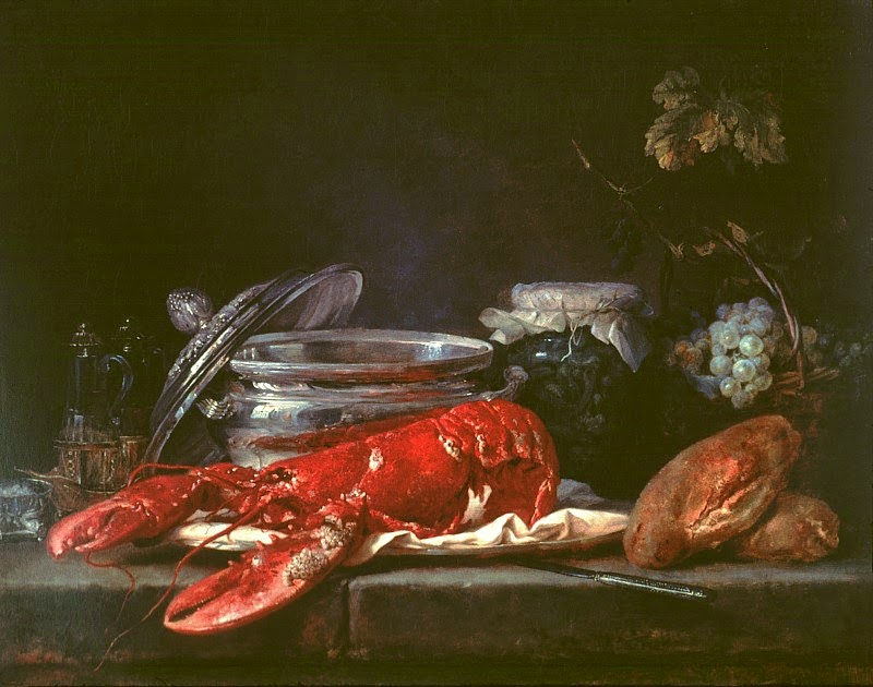 Anne Vallayer-Coster - Still Life with Lobster