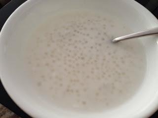 Coconut Tapioca Dessert Soup
