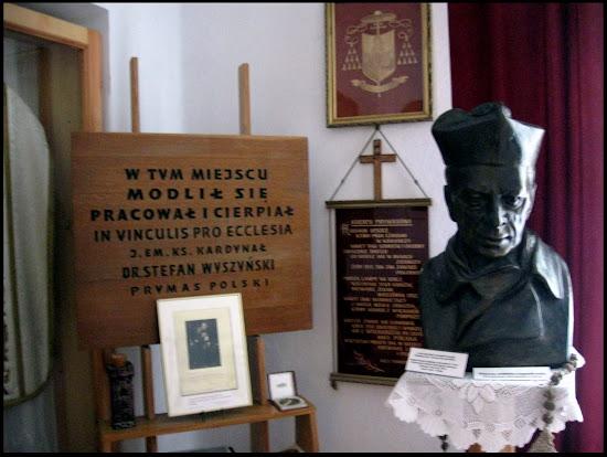 pokój kardynała wyszyńskiego w komańczy