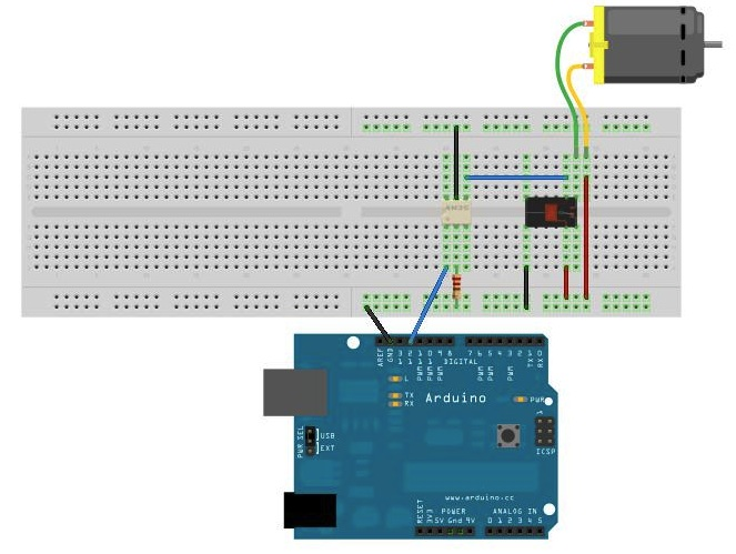arduino for beginners  controlling a 12v dc motor  fan with