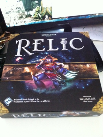 Relic board game