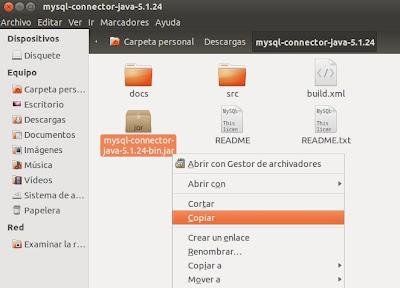 Descargar y añadir JDBC a proyecto Eclipse para acceso a MySQL desde Android