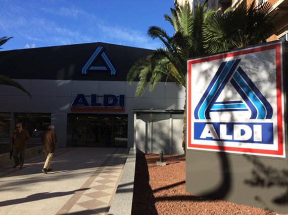 Aldi abre un supermercado en la calle Capitán Haya nº7