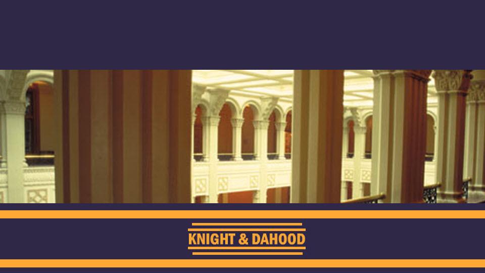Knight & Dahood