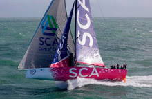 Volvo 65 one-design - Team SCA with Sally Barkow
