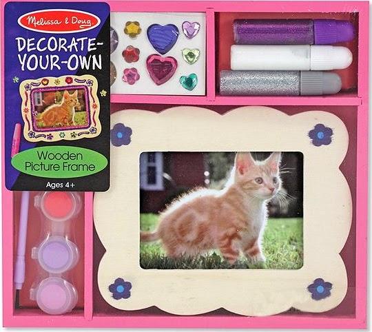 Bộ tô màu và thiết kế khung ảnh bằng gỗ ME3099 với đầy đủ các phụ kiện để bé trang trí