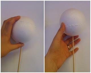 Resultado de imagem para esfera de isopor