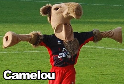 Mascotte rugby AS Béziers