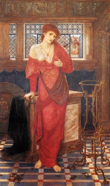 John Melhuish Strudwick - Isabella and the Pot of Basil