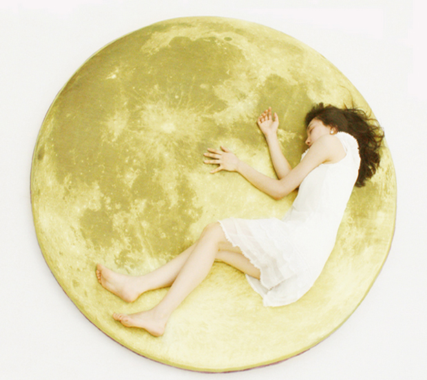 Full Moon Odyssey floor mat by i³ Lab