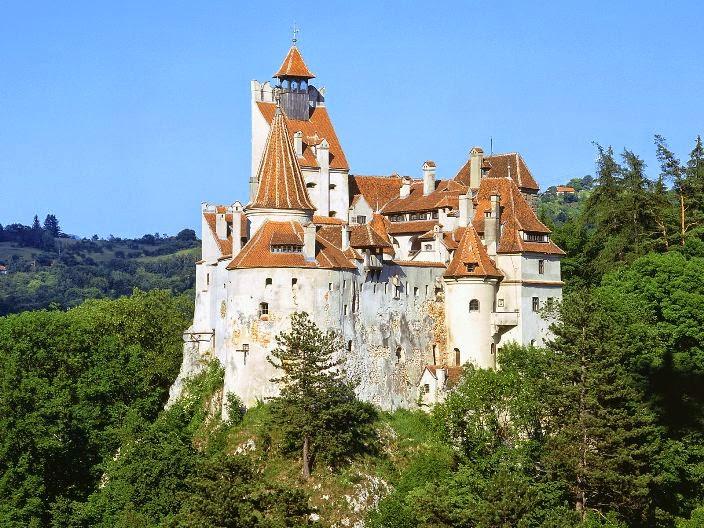 Pod sjajem punog meseca - zamak Bran