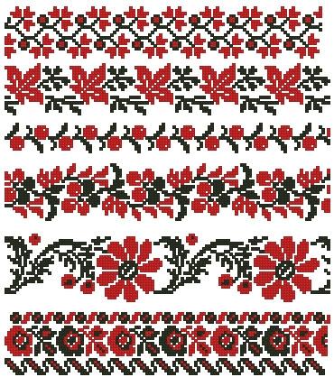орнамент с ягодами