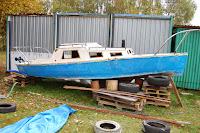 Sprzedam jacht drewniany - 13032015
